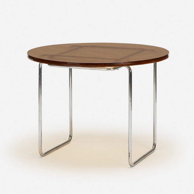 Marcel Breuer, 'dining table, model B18', 1928, Wright