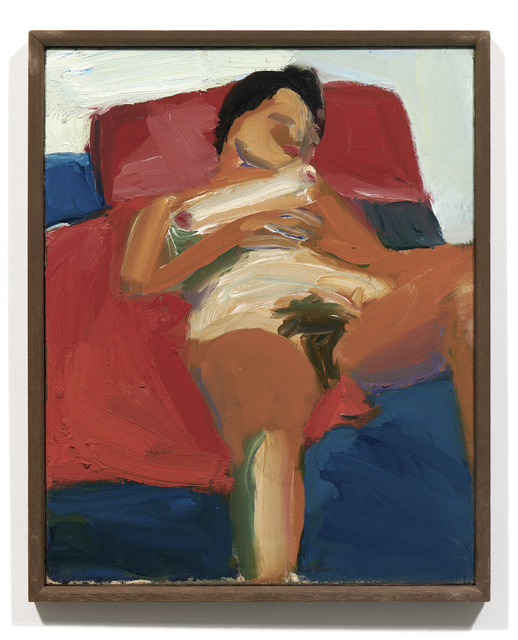 Joan Brown, 'Untitled (reclining nude)', c. 1958, Brian Gross Fine Art