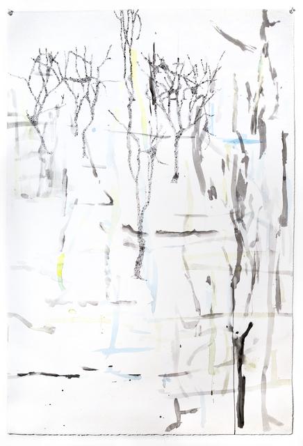 , 'Falling Blue,' 2017, Goya Contemporary/Goya-Girl Press