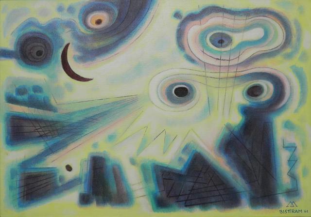 , 'Fantasy of the Dark Moon,' 1961, Addison Rowe Gallery
