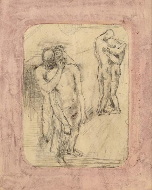, 'Lovers,' ca. 1942, Osborne Samuel