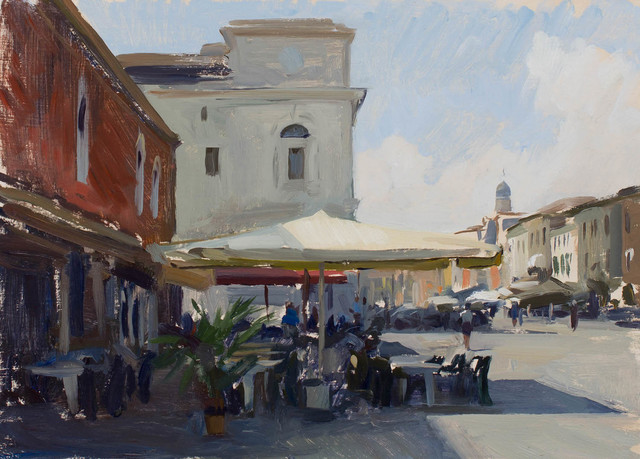 , 'Cafe in Chioggia,' 2016, Grenning Gallery