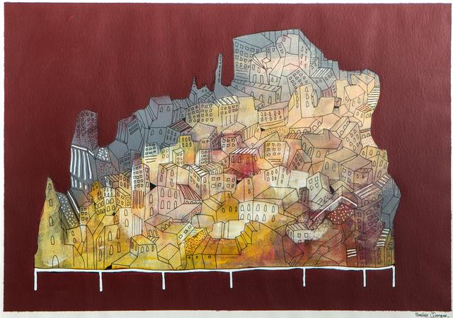 , 'City 2,' 2016, Al Ma'mal Foundation for Contemporary Art