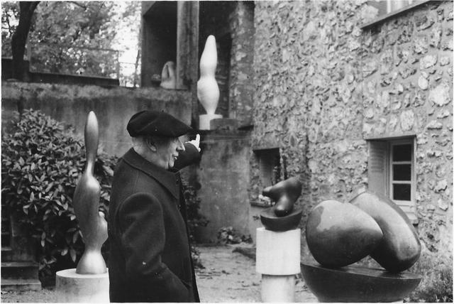 Inge Morath, 'Jean Arp', 1956, °CLAIRbyKahn Galerie