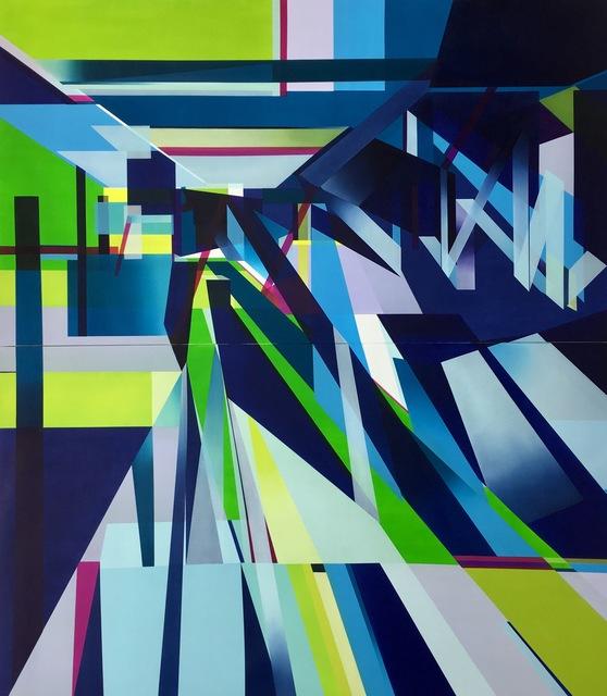 , 'Sapphire Sash,' 2017, Jonathan Ferrara Gallery