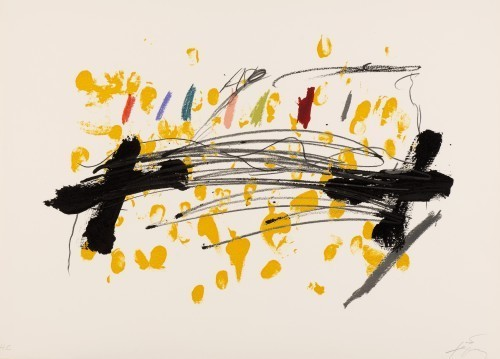 Antoni Tàpies, 'La Clau del Foc 15', 1973, Chelsea Art Group