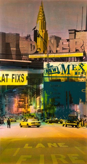 , 'Flat Fixs (Fire Lane),' 2012, Galerie Barbara von Stechow