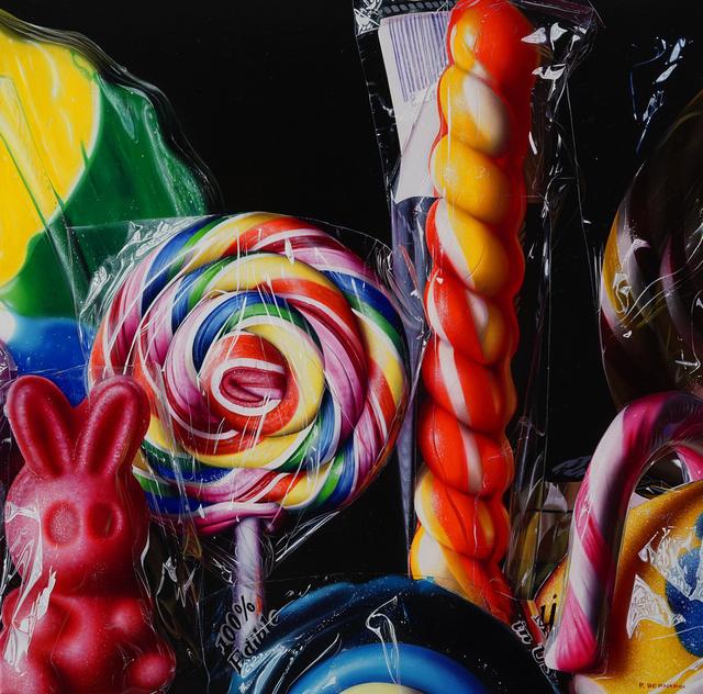 Roberto Bernardi, 'Little Yellow Lollipop', 2019, Painting, Oil on canvas, Louis K. Meisel Gallery
