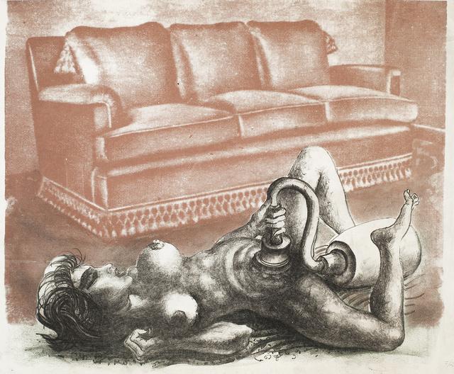 """, ' Untitled (No. 1). De la serie """"La Obsesión de la Belleza"""" ,' ca. 1976, Cosmocosa"""