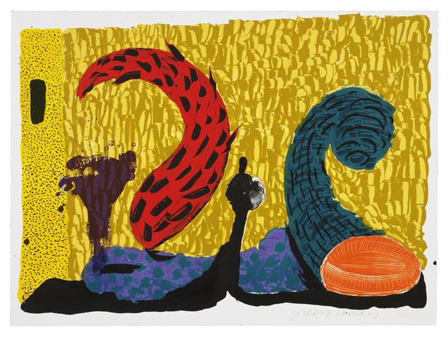 David Hockney, 'Pushing Up', 1993, Zeit Contemporary Art