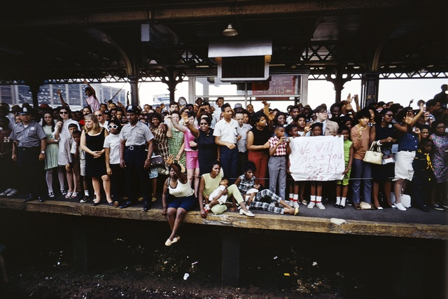 , 'Untitled from RFK Funeral Train,' 1968/ Printed 2008, Danziger Gallery