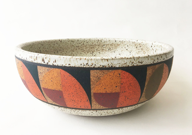 Kat Hutter, 'Painted Bowl (extra large) ', 2019, Eutectic Gallery
