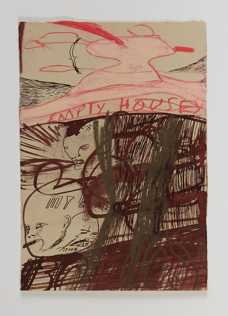 Samuel Bassett, 'Anvil Heart', 2020, Drawing, Collage or other Work on Paper, Work on paper, Vigo Gallery