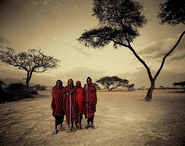 , 'VIII 462 - Maasai - Ngorongoro, Serengeti - Tanzania,' 2010, Kate Vass Galerie