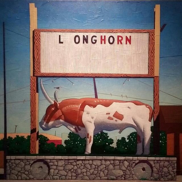 , 'L_Onghorn,' 2017, Ro2 Art