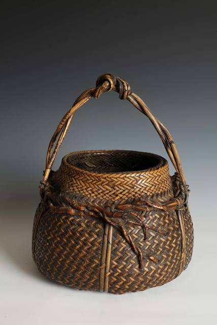 , 'Handled Flower Basket (T-4226),' ca. 1920, Erik Thomsen