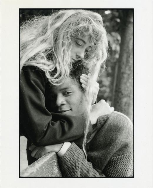 , 'Jean-Michel Basquiat and Jennifer Goode, Jardin des Tuileries, Paris, France exp. 1, July 1985,' 1985, Gagosian