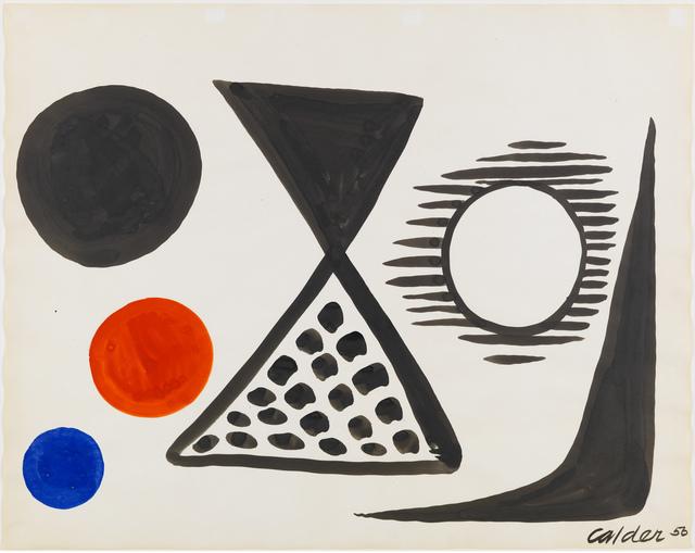 , 'Untitled II,' 1956, Omer Tiroche Gallery