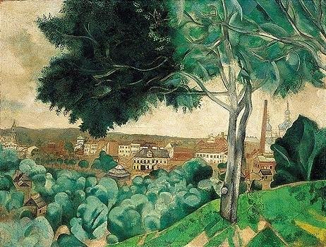 , 'Vitebsk, vue du mont Zadunov,' 1917, Gallery On The Move