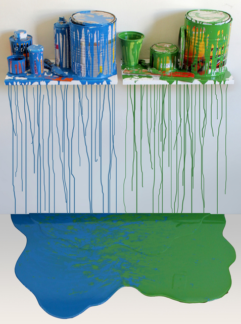 , 'De la serie interconexiones. No. 2,' 2014, Galeria El Museo