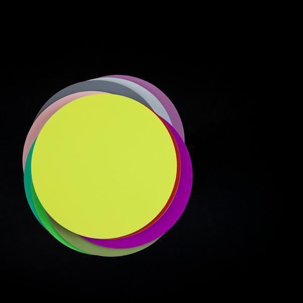 , 'Colour Circles on Black 2,' , Bau-Xi Gallery