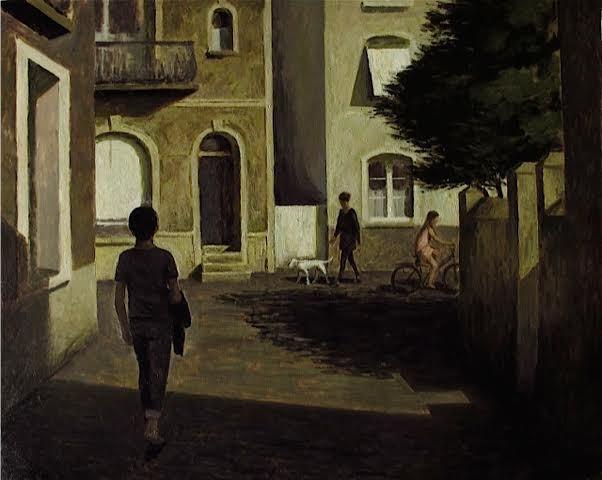 , 'La ruelle ensoleillée,' , Hugo Galerie