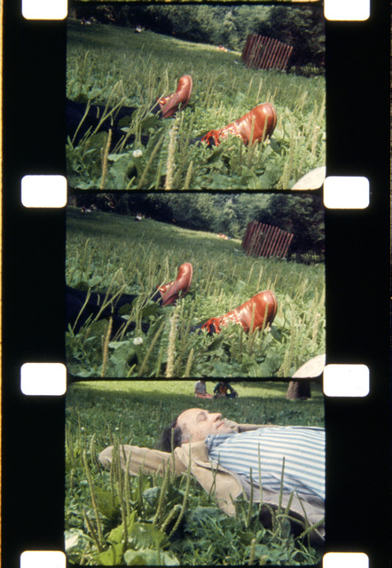 , 'The Film Maker, Central Park, NYC, 1974,' 2013, Deborah Colton Gallery