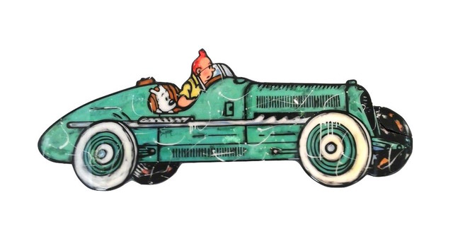 , '(ATH) Tintin driving,' 2017, ARTION GALLERIES