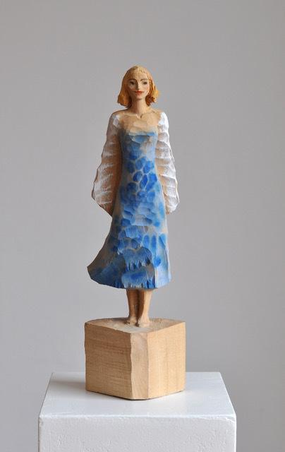 , 'Blue Dress,' 2018, Alan Kluckow Fine Art