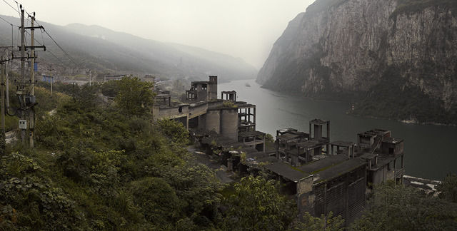 , 'Abandoned Factory along Wu River,' , Contemporary by Angela Li