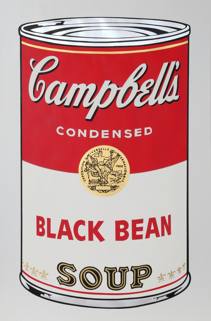 Andy Warhol, 'Black Bean from Campbells Soup I', 1968, RoGallery