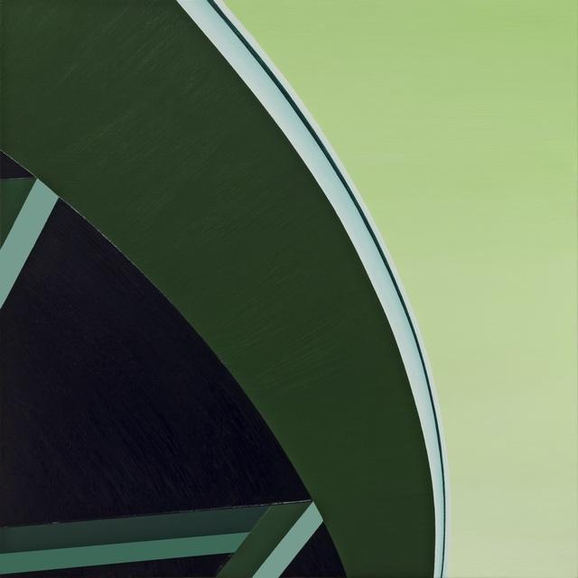 , 'Green Curve,' 2017, LAUNCH LA
