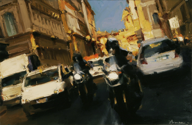 , 'Rome Traffic,' 2011, Jenkins Johnson Gallery