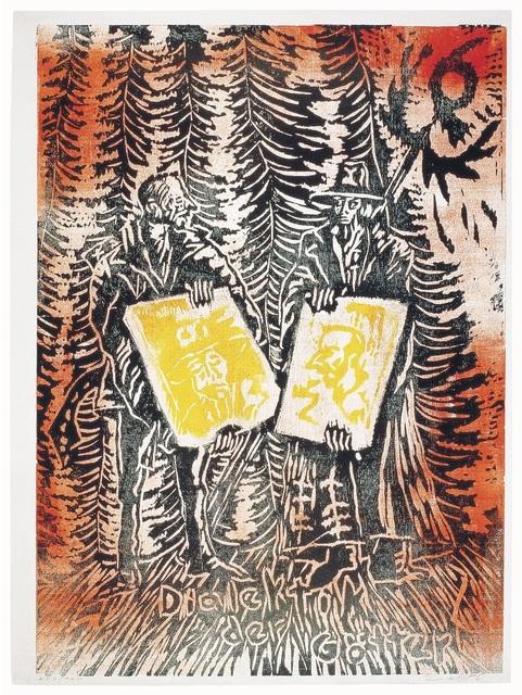 , 'Dialektik der Götter,' 1980-1990, ARTEDIO