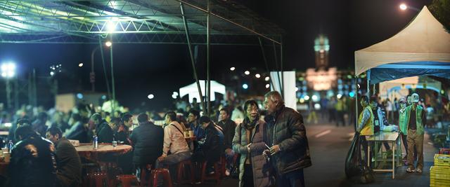 , 'Dinning at Kaidagelan Avenue, Taipei, 2016 Presidential election,' 2016, Aura Gallery