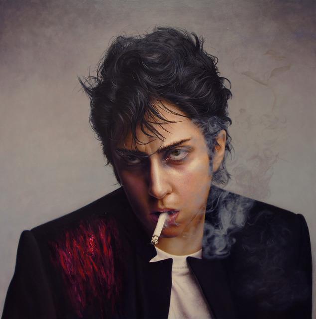 , 'Smoke Lady Gaga,' 2013, Gallery LVS