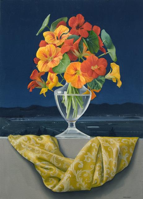 , 'Nasturtiums Over Trasimeno,' 2014, Clark Gallery