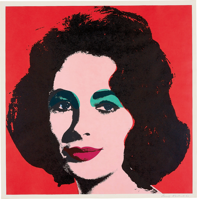 Andy Warhol, 'Liz', 1964, Print, Offset lithograph in colours, on wove paper, with full margins, Phillips