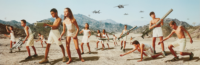 AES+F, 'Episode 3, No. 8 from Action Half Life', 2003, Photography, Archival pigment print on canvas, Phillips