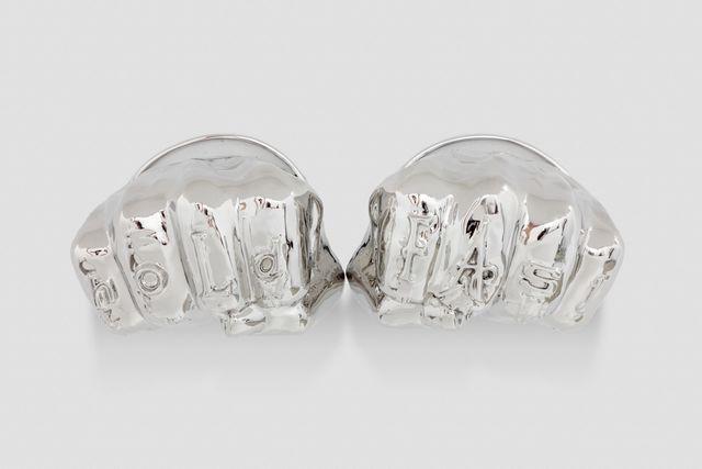 Joel Morrison, 'Hold Fast/Love Bracelets (Cartier)', 2018, Almine Rech