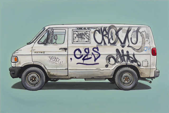 , 'West,' 2012, Jonathan LeVine Projects