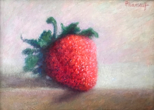 Melody Phaneuf, 'Wild Strawberry', ca. 2019, The Guild of Boston Artists