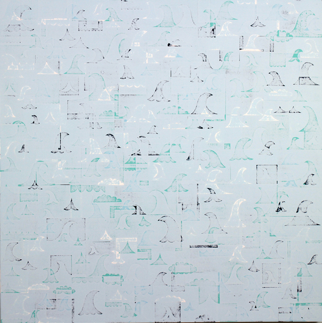 , 'Nor'easter,' 2012, Jonathan LeVine Projects