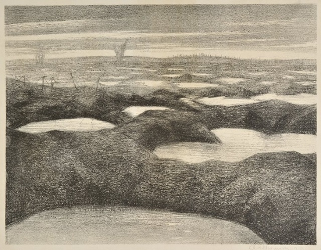 , 'After a Push,' 1918, Osborne Samuel