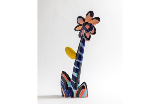 , 'Supergroup, Flower Ceramic,' 2019, Studio Voltaire