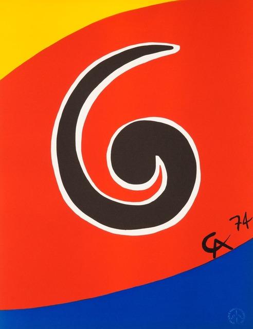 Alexander Calder, 'Sky Swirl', 1974, Christopher-Clark Fine Art
