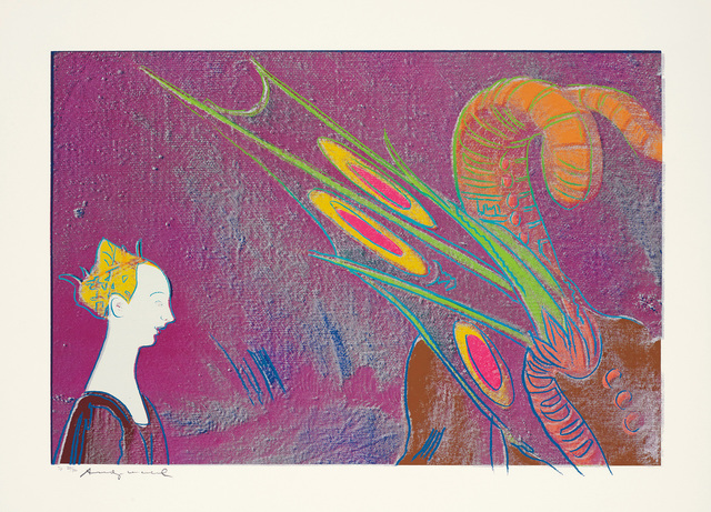 Andy Warhol, 'Details of Renaissance Paintings (Paolo Uccello, St. George and the Dragon, 1460)', 1984, Phillips
