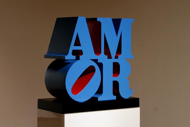 , 'AMOR,' 1998, Galleria d'Arte Maggiore G.A.M.