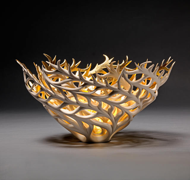 , 'Gilded Coral Nest,' 2020, Michele Beiny Inc.