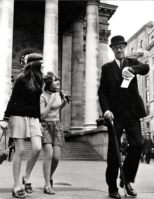, 'Time Gentlemen Please: London Stock Exchange,' 1960, Beetles + Huxley